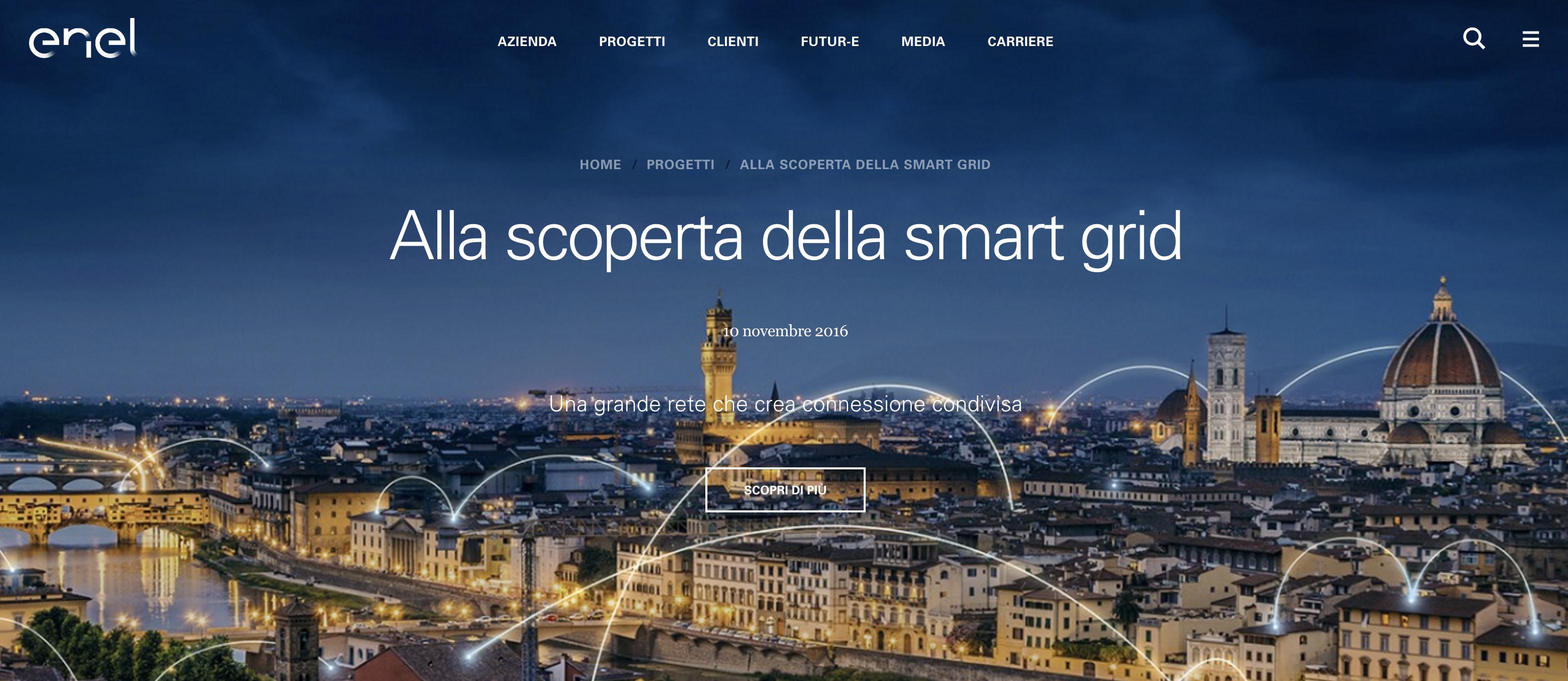 il nuovo sito Enel